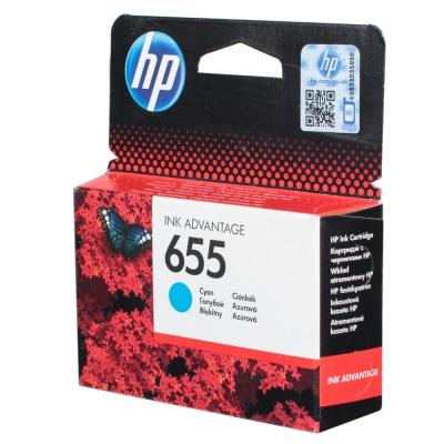 Купить Картридж HP CZ110AE № 655, голубой в интернет магазине
