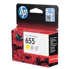 Картридж HP CZ112AE № 655, желтый | Оригинальные