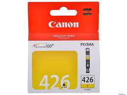 Купить Картридж CANON CLI-426Y желтый  в интернет магазине