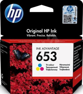Купить Картридж HP 653 трехцветный (3YM74AE) в интернет магазине