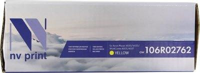 Купить Картридж NV Print 106R02762 Yellow для Xerox Phaser 6020/6022/WorkCentre 6025/6027 (1000k) в интернет магазине