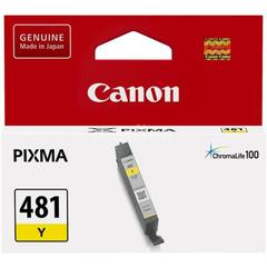 Картридж CANON CLI-481 Y желтый
