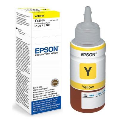 Купить Картридж EPSON T6644 желтый  в интернет магазине