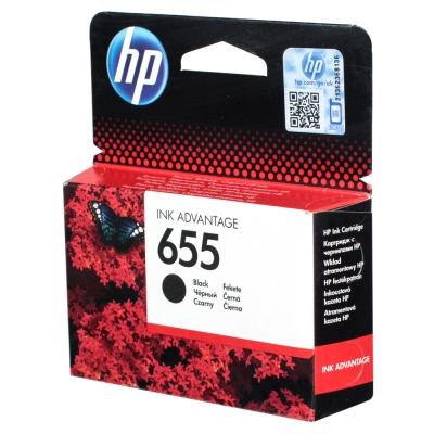 Купить Картридж HP CZ109AE № 655, черный в интернет магазине