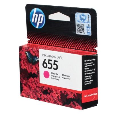 Купить Картридж HP CZ111AE № 655, пурпурный в интернет магазине