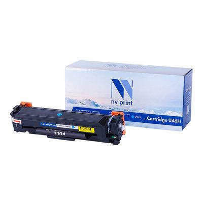 Купить Картридж NVP совместимый NV-046H для Canon, голубой в интернет магазине
