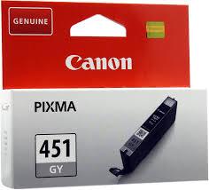 Купить Картридж CANON CLI-451GY серый  в интернет магазине